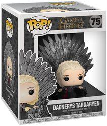 Figura Vinilo Daenerys Targaryen Iron Throne (POP Deluxe) 75