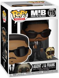 Men in Black Figura Vinilo Agent J and Frank 715