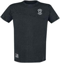Camiseta con efecto lavado