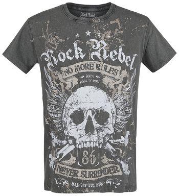 e20ea4bdc Rock Rebel by EMP. Rebel Soul. Camiseta. Rebel Soul