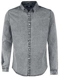 Camisa vaquera gris