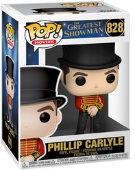 Greatest Showman Figura Vinilo Phillip Carlyle 828
