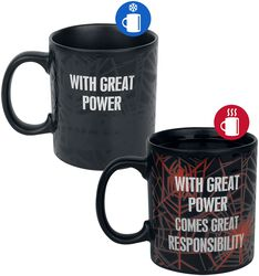 With Great Power - Taza efecto térmico
