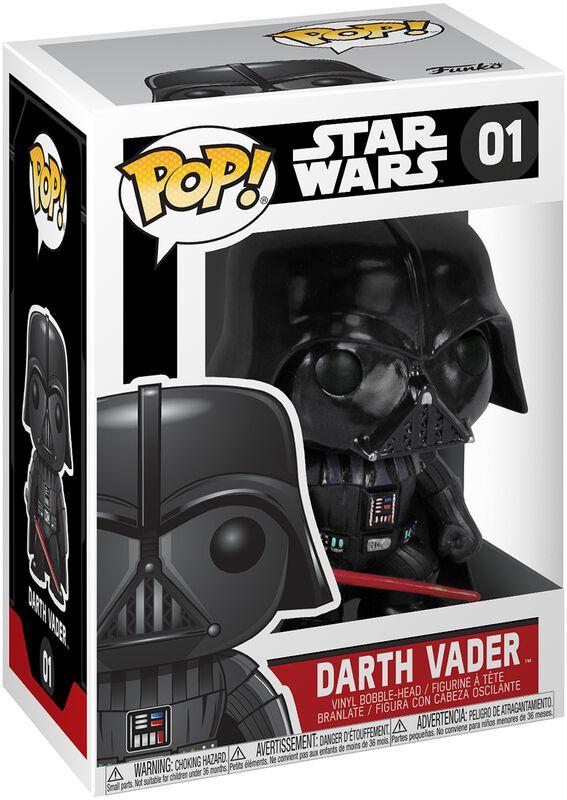 Figura Vinilo Darth Vader Bobble-Head 01