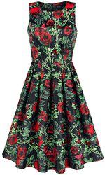 Annie Rose Thorns Floral Retro