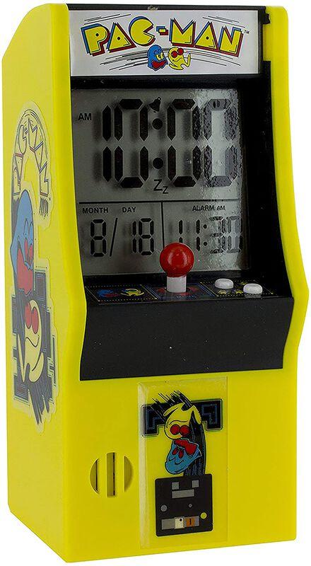 Pac-Man Arcade Alarm Clock