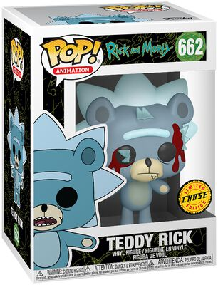 Figura Vinilo Teddy Rick (posible Chase) 662