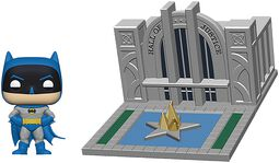 Figura Vinilo Batman with Hall of Justice (Pop! Town) 09