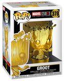 Figura Vinilo Marvel Studios 10 - Groot (Chrome) 378