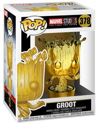 Figura Vinilo Marvel Studios 10 - Groot (Chrome) 378