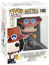 Figura Vinilo Portgas D. Ace 100