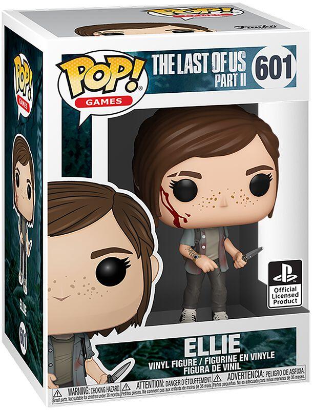 Figura vinilo Ellie 601