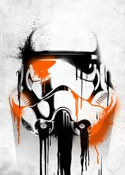 Displate (Banksy) Stormtrooper
