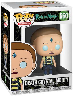 Figura Vinilo Death Crystal Morty 660