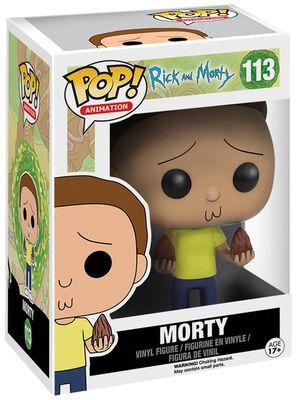 Figura Vinilo Morty 113