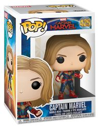 Figura Vinilo Captain Marvel (posible Chase) 425