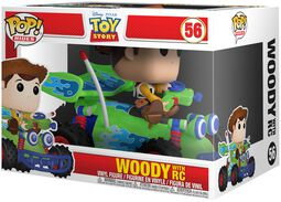 Figura Vinilo Woody with RC POP! Rides 56
