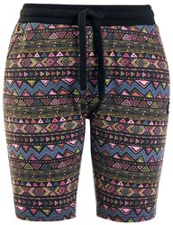 Colourful Shorts with Pattern