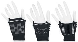 3-Pack Guantes sin dedos