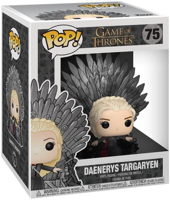 Figura Vinilo Daenerys Targaryen Iron Throne (POP Deluxe) 75