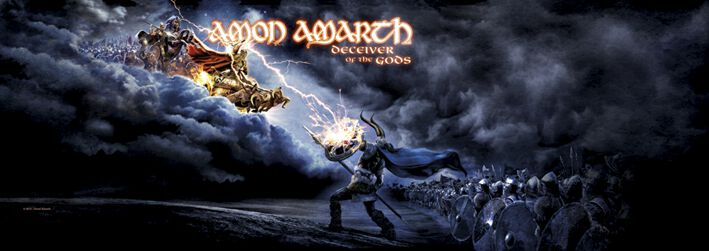 Resultado de imagen de Amon Amarth. Deceiver of the Gods