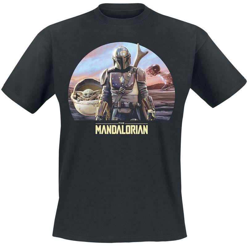 The Mandalorian - Bounty Hunter And The Child - Grogu