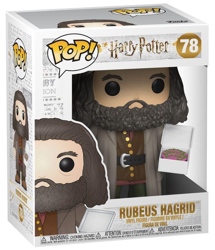 Figura vinilo Rubeus Hagrid (Super Pop!) 78