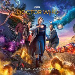 Calendario pared 2020 - The 13th Doctor