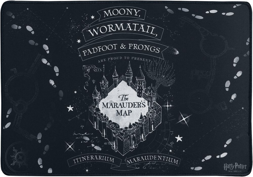 Marauder's Map - Alfombrilla ratón