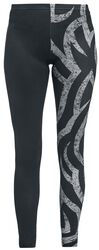 Leggings negros con tribal
