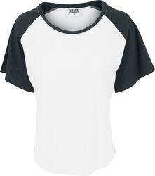 Camiseta Mujer Raglan