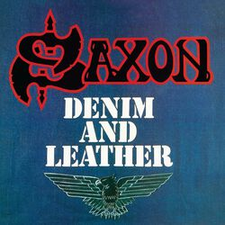 Denim and leather