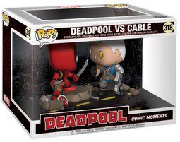 Figura Vinilo Deadpool vs. Cable (Movie Moments) 318