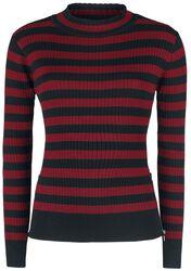 Menace Red and Black Stripe