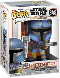 Figura Vinilo The Mandalorian - Heavy Infantry Mandalorian 348