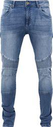 Pantalones Ajustados Motero