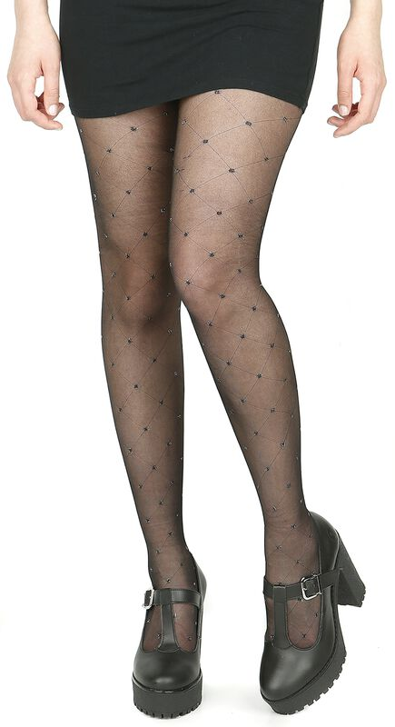 Small Diamond Dotty Sherr Tights