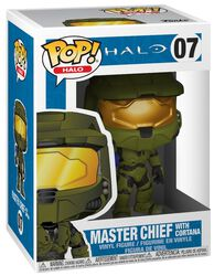 Figura Vinilo Master Chief With Cortana 07