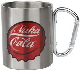 Nuka Cola - Taza con mosquetón