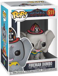 Figura Vinilo Fireman Dumbo 511