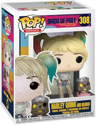 Figura Vinilo Harley Quinn and Beaver 308