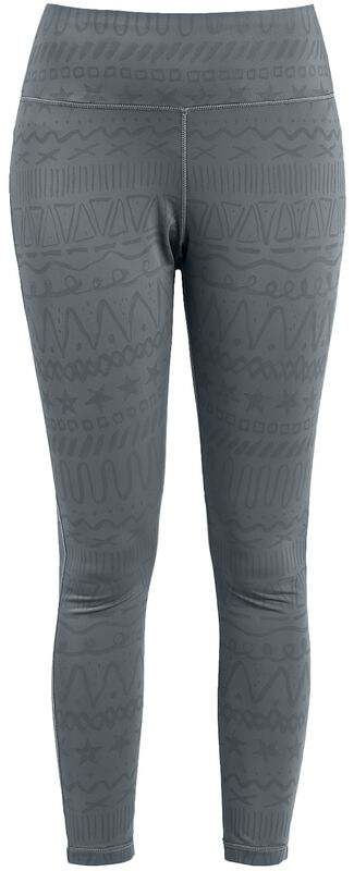 Sport and Yoga - Grey Leggings All-Over