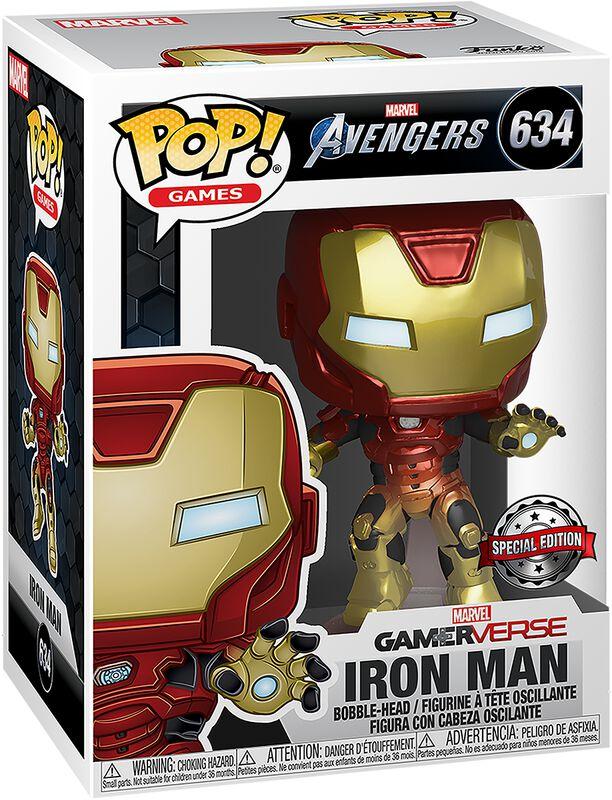 Figura vinilo Avengers - Iron Man (Gamerverse) 634