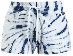Pantalón corto batik azul/blanco