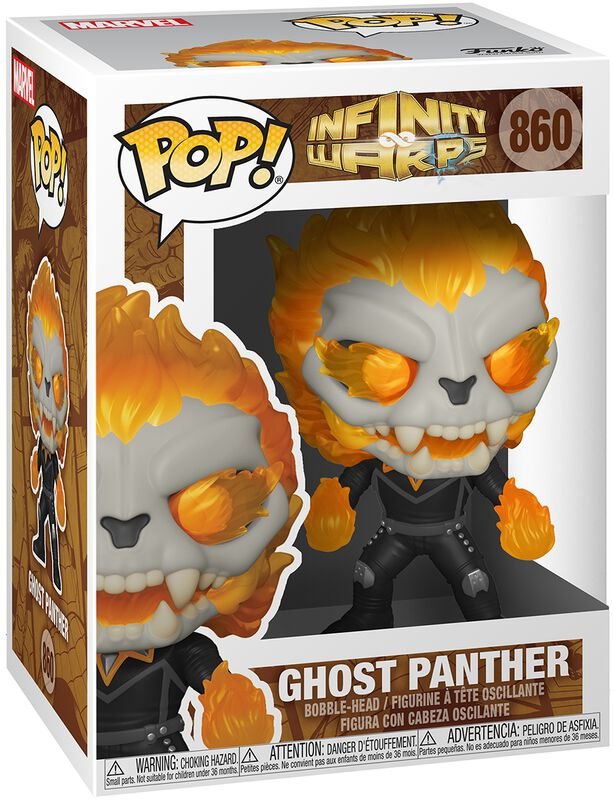Figura vinilo Infinity Warps - Ghost Panther 860