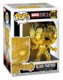 Figura Vinilo Marvel Studios 10 - Black Panther (Chrome) 383