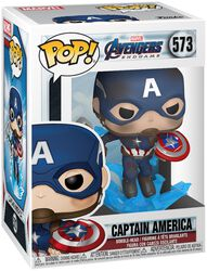 Figura Vinilo Endgame - Captain America 573