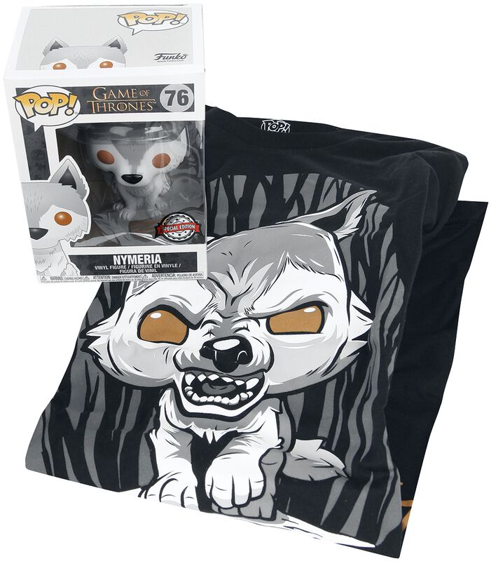 Nymeria - Camiseta + Funko - Fan Package