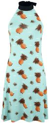Pineapple Halterneck Dress