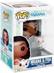 Figura Vinilo Moana & Pua 213